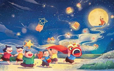 9 words about: Mid-Autumn Festival